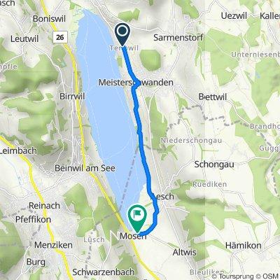 Seengerstrasse 8, Tennwil nach Aescherstrasse 24, Mosen