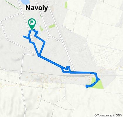 От Unnamed Road, Navoiy до Unnamed Road, Navoiy