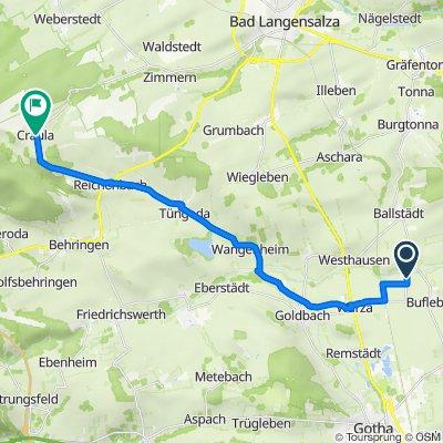 Hauptstraße 16, Bufleben nach Plan 65, Hörselberg-Hainich