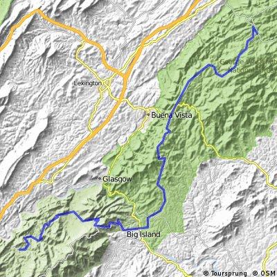 buchanan-Montebello -jour6 (option forest rd)