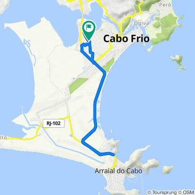 De Rua Alcides de Oliveira, 109, Cabo Frio a Avenida Vitor Rocha, 1993–2049, Cabo Frio