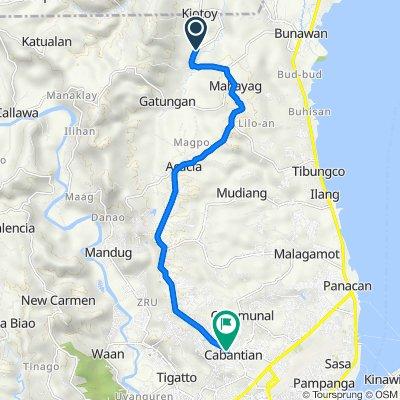 Unnamed Road, Davao City to Exodus Street, Davao City