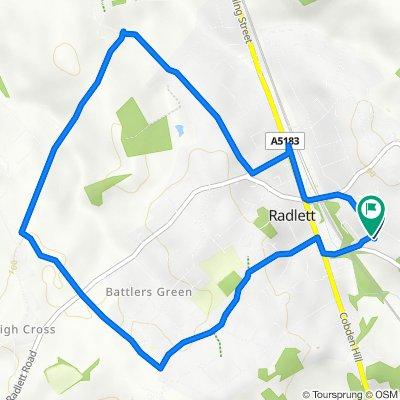 Radlett Pathway Oakridge