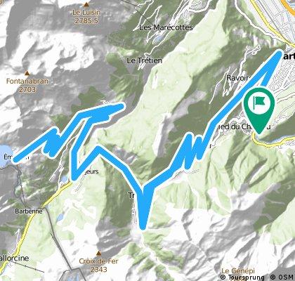 Col de la Forclaz and Barrage d'Emosson