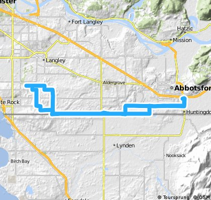 # 2 Route Hills and flat riding