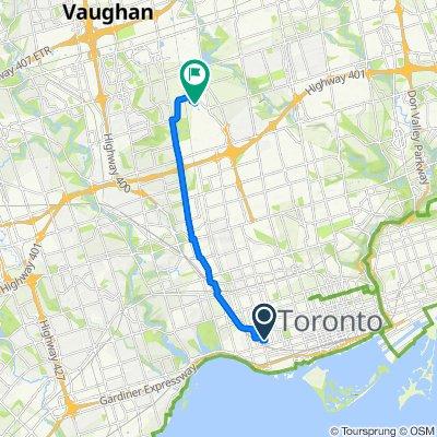 Gladstone Avenue 80, Toronto to Carl Hall Road, Toronto