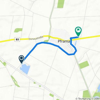 Wagram an der Donau, Eckartsau nach Pframa 137, Eckartsau