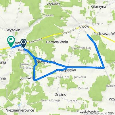 Trasa do Tomaszowska 66, Odrzywół