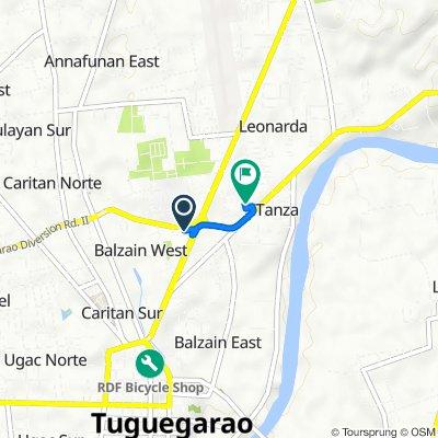 Diversion Road 147, Tuguegarao City to Pan-Philippine Highway 12, Tuguegarao City