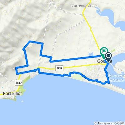 Gravel Road Goolwa bike route (Perfect for E-Bike) 29 km