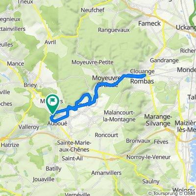 De 2 Route de Briey, Auboué à 4 Route de Briey, Auboué