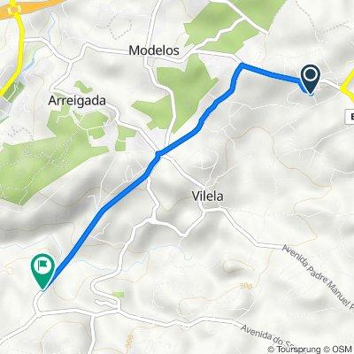 De Rua Vitorino de Matos 122, Vilela a Avenida José Ferreira da Cruz 263, Vilela
