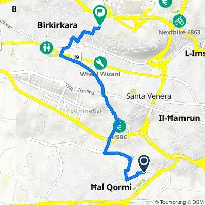 Triq Spiteri Fremond 56, Ħal Qormi to Giovanni Papaffy 44, Birkirkara