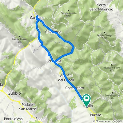 Da Via Flaminia 35, Sigillo a Via Flaminia 35, Sigillo