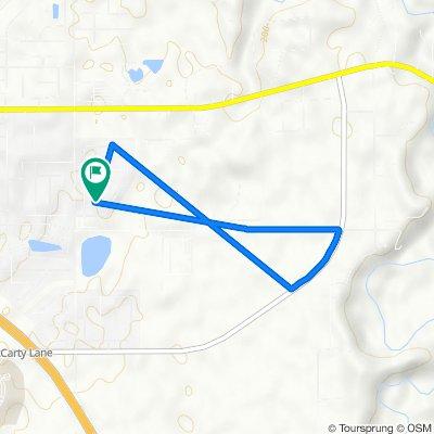 379 Chapelhill Dr, Lafayette to 395 Chapelhill Dr, Lafayette