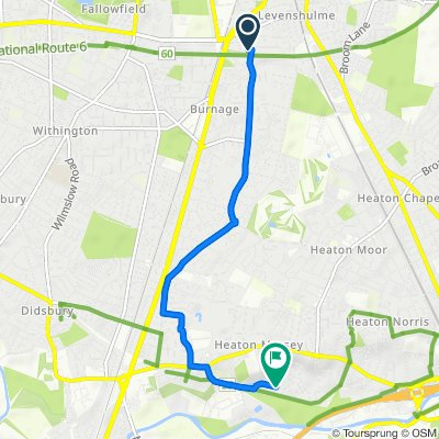 1–23 Scarisbrick Road, Levenshulme, Manchester to 73–77 Valley Road, Heaton Mersey, Stockport