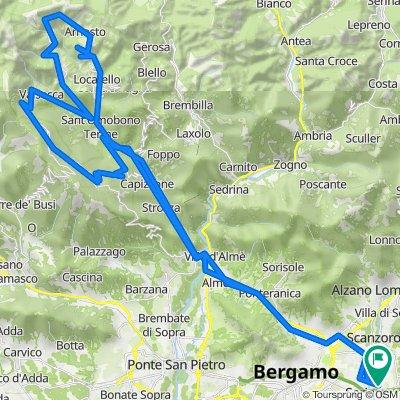 LOMBARDIA: Bedulita, Costa Imagna e Fuipiano (Valle Imagna - Bergamo)