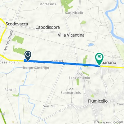 De Borgo Malborghetto 4 a Via Cortona 1, Zona Artigianale Commerciale Cortona