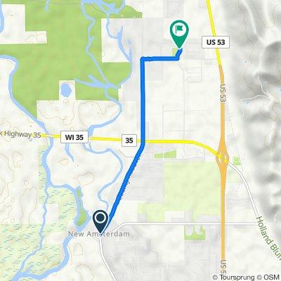 W8160–W8198 Old Highway Cth NA, Holmen to 3126 Horton St, Holmen