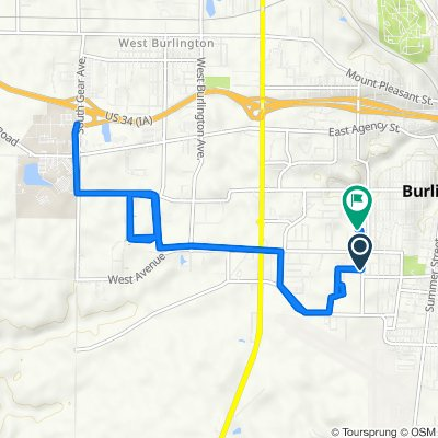 Hagemann Avenue 1015, Burlington to Williams Street 2204, Burlington