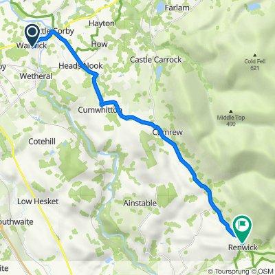 Warwick-on-Eden to Methodist Church