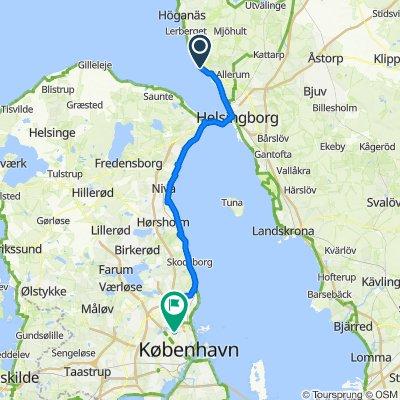Sweden tour day 10 (Ferry to Denmark, CPH)