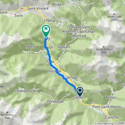 Hone - Borgo ( Valle d'Aosta)