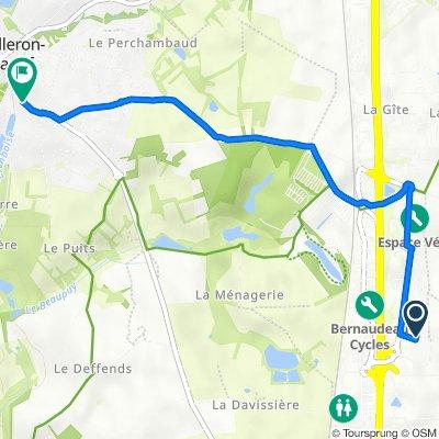 De 4 Impasse René Fonck, La Roche-sur-Yon à 174 Rue Principale, Mouilleron-le-Captif