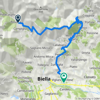 Da Campiglia Cervo Fraz.valmosca Biv. Piaro, Valmosca a Via Guglielmo Marconi 14, Vigliano Biellese