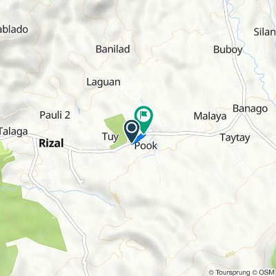 San Pablo-Rizal-Nagcarlan-Liliw Road, Rizal to San Pablo-Rizal-Nagcarlan-Liliw Road, Rizal