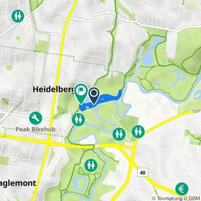 Main Yarra Trail, Heidelberg to River Gum Walk, Heidelberg