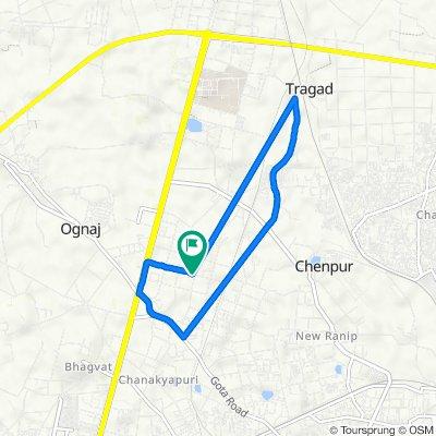 Gota, Ahmedabad to Gota, Ahmedabad