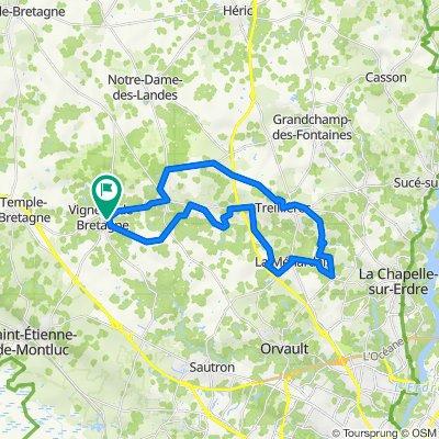 De Impasse Salvador Dali 1, Vigneux-de-Bretagne à Impasse Salvador Dali 1, Vigneux-de-Bretagne