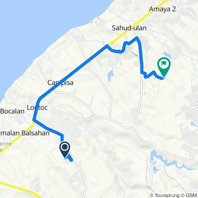 Unnamed Road, Naic to Unnamed Road, Tanza