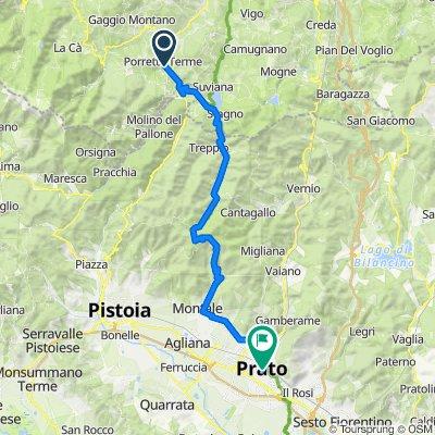 Via Borgolungo 1, Porretta Terme do Via della Fortezza 1, Prato