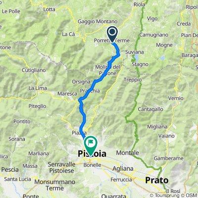 Piazza della Libertà 66, Porretta Terme do Via XX Settembre 28, Pistoia