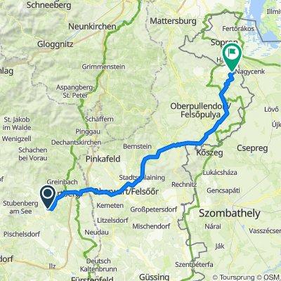 Oberer Winzerbach Weg 248, Dienersdorf nach Burgenlandstraße 45, Deutschkreutz