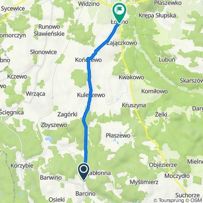 Barcino do Starowiejska 2, Łosino