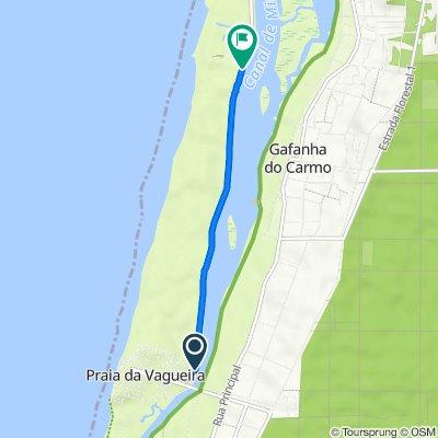 M 592, Gafanha da Boa Hora to Estrada Municipal Vagueira 6–48, Gafanha do Carmo
