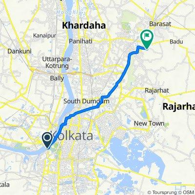 Strand Road, Kolkata to Kolkata