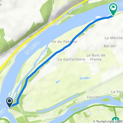 De Le Bois de Plante, Villandry à D88, Berthenay