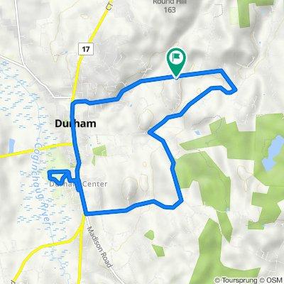 375 Haddam Quarter Rd, Durham to 375 Haddam Quarter Rd, Durham