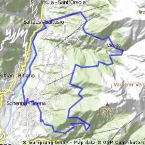 Schenna - Taserhöhenweg u.z.