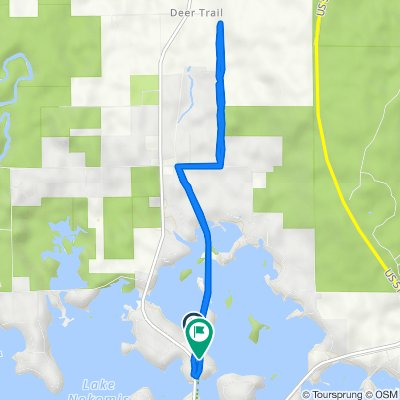 2000–2076 Old Rd, Tomahawk to 2009–2085 Indian Pine Point Rd, Tomahawk