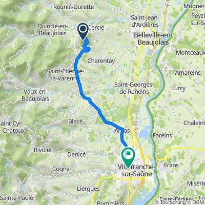 Itinéraire vers 183 Rue de la Paix, Villefranche-sur-Saône