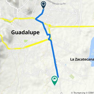 De Guadalajara 23, Guadalupe a Laurel, Cieneguitas