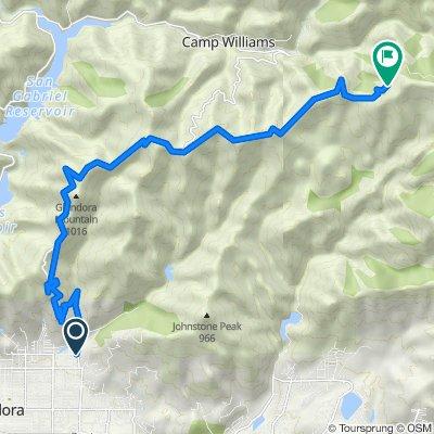 1301–1399 E Palm Dr, Glendora to Glendora Ridge Rd, La Verne
