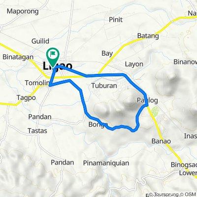 Ligao City Hall - Bonga Loop around Kawa-Kawa