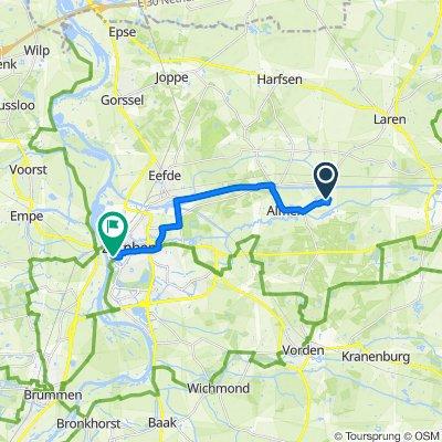Ehzerallee 14, Almen to 's Gravenhof 1, Zutphen