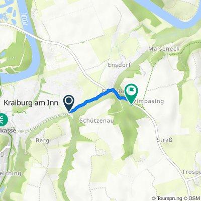 Schützenau 4, Kraiburg am Inn nach St2092, Kraiburg am Inn